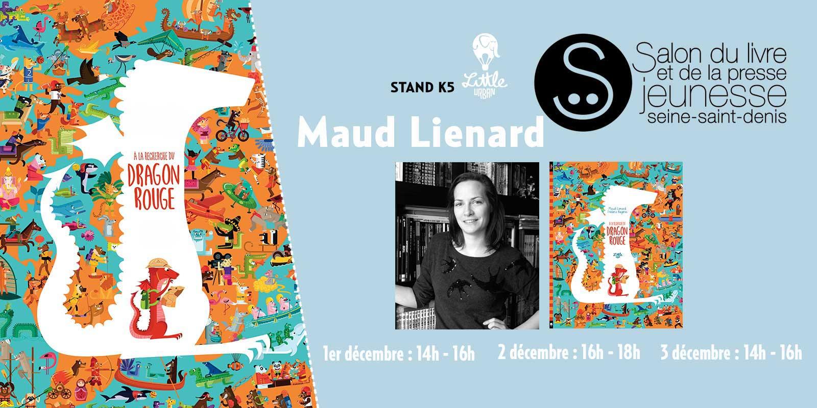 Maud lienard au salon du livre de montreuil for Salon du livre 2017 montreuil