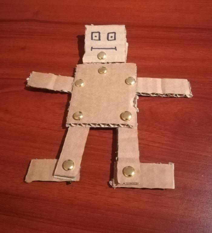 robot désarticulé